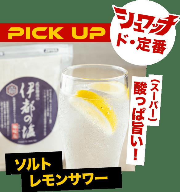 シュワッチド・定番 酸っぱ(スーパー)旨い!ソルトレモンサワー